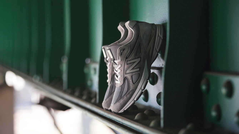 Foto: New Balance recupera una de sus zapatillas más innovadoras de la historia, la 'Made 990', en una exclusiva edición limitada a 1.500 pares.