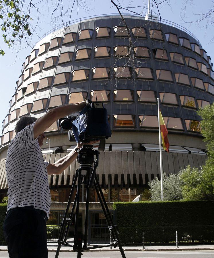 Foto: Sede del TC en Madrid. (EFE)