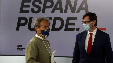 El pequeño trastero de Sanidad reconvertido en despacho de Fernando Simón
