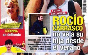 Foto: El Kiosko de los miércoles: Rocío Carrasco no ve a su hija desde el verano