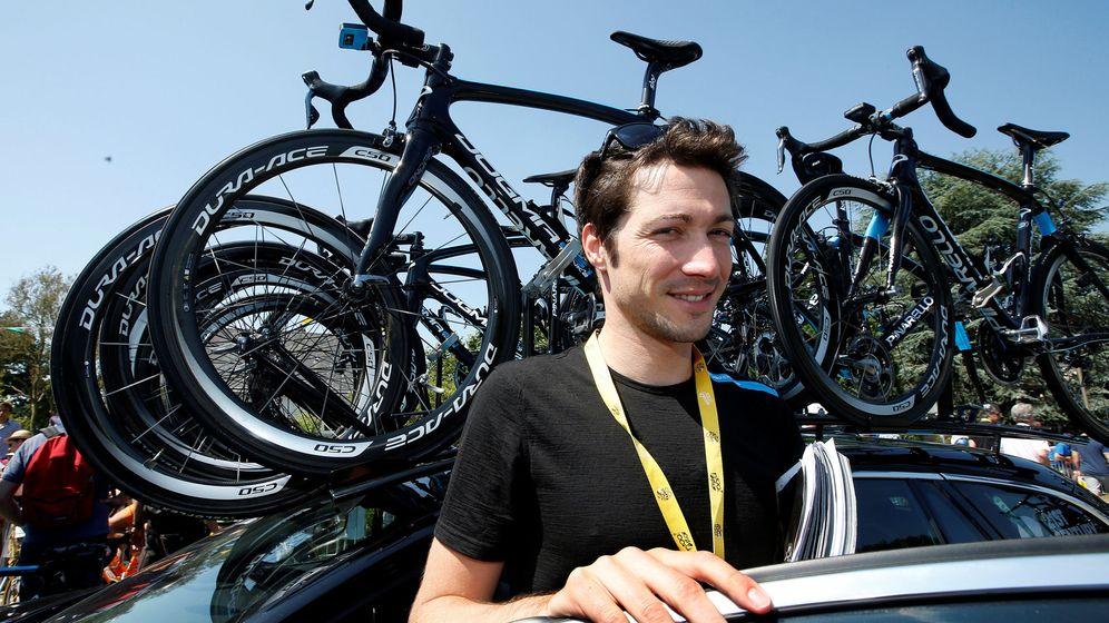 Foto: Nicolas Portal, en una imagen de 2013 en el Tour de Francia. (Reuters)