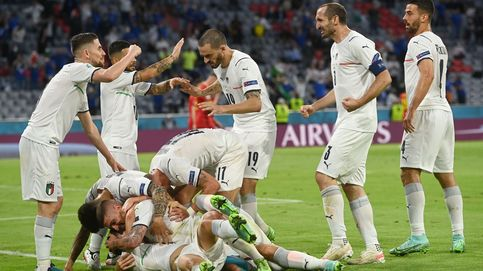 Italia domina a Bélgica (1-2) en un trepidante partido y se cita con España en Wembley