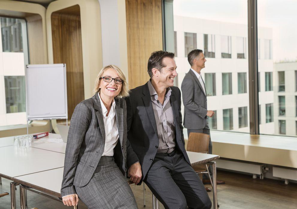 Foto: El modo en que las personas se relacionan en una empresa es fundamental para el éxito de ésta. (Carlos Hernandez/Corbis)