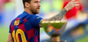 Post de La mala suerte de Messi: se lesiona en su primer entrenamiento de pretemporada