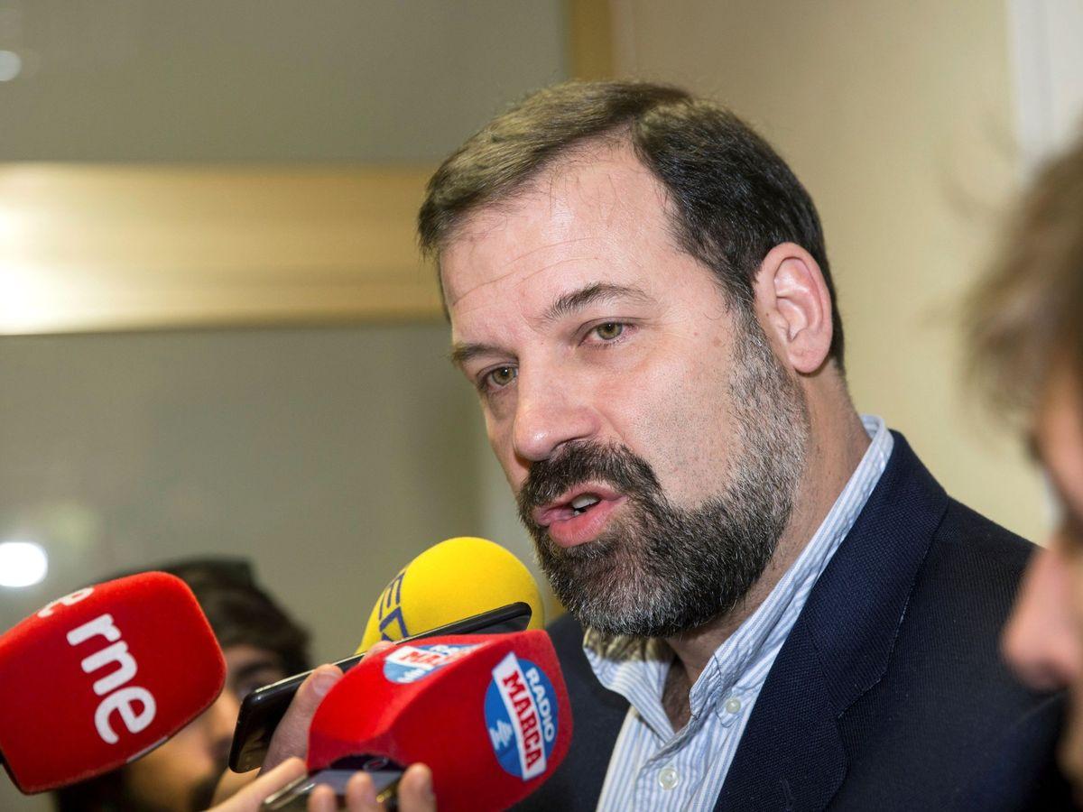 Foto: Alfonso Reyes, durante una comparecencia ante los medios en 2018. (EFE)