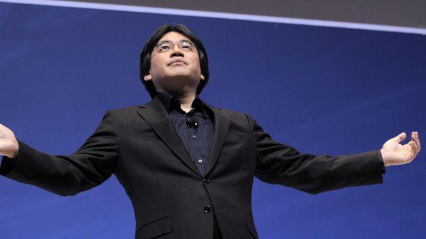 Foto: Iwata, durante una conferencia (EFE)