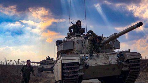 La claustrofobia de la guerra a bordo de un tanque israelí