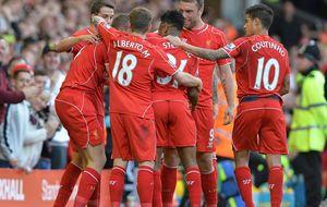 El Liverpool vuelve a ganar después de sufrir en casa frente al WBA