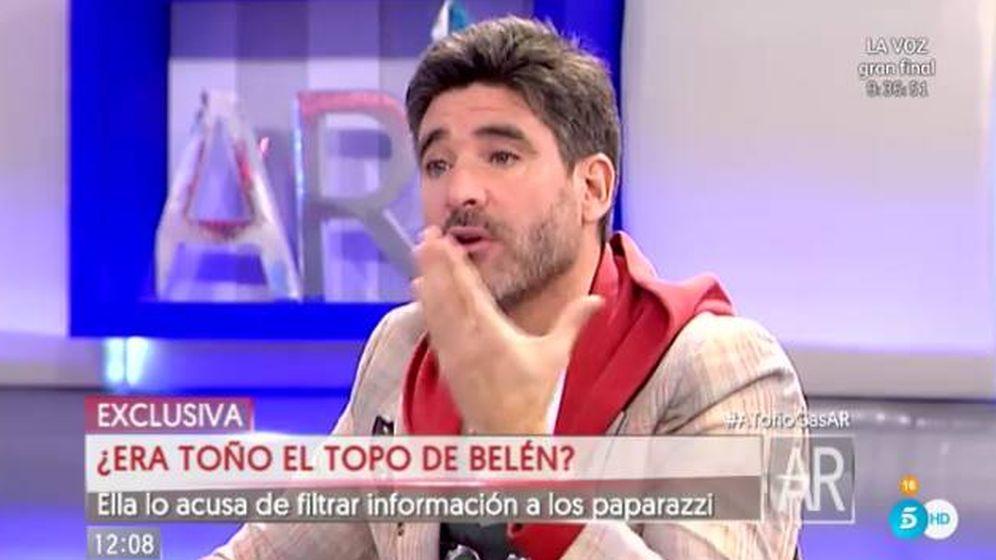 Foto: Toño Sanchís se estrena como colaborador de 'El programa de AR'