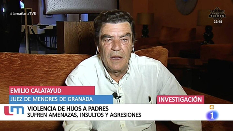 El juez de Menores de Granada Emilio Calatayud.