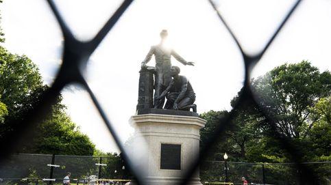 Trump aprueba una orden que castiga la destrucción de estatuas con hasta 10 años de cárcel