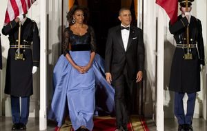 La Reina de Brunéi agasaja a Michelle con 57.000 euros en joyas