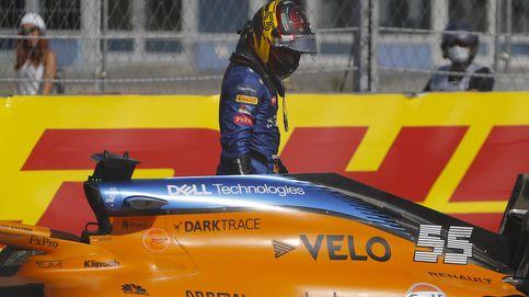 El primer gran error de Carlos Sainz en McLaren: Fallé al calcular la velocidad