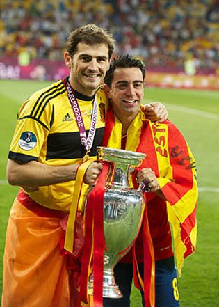 Foto: Iker y Xavi, premio Príncipe de Asturias de los Deportes