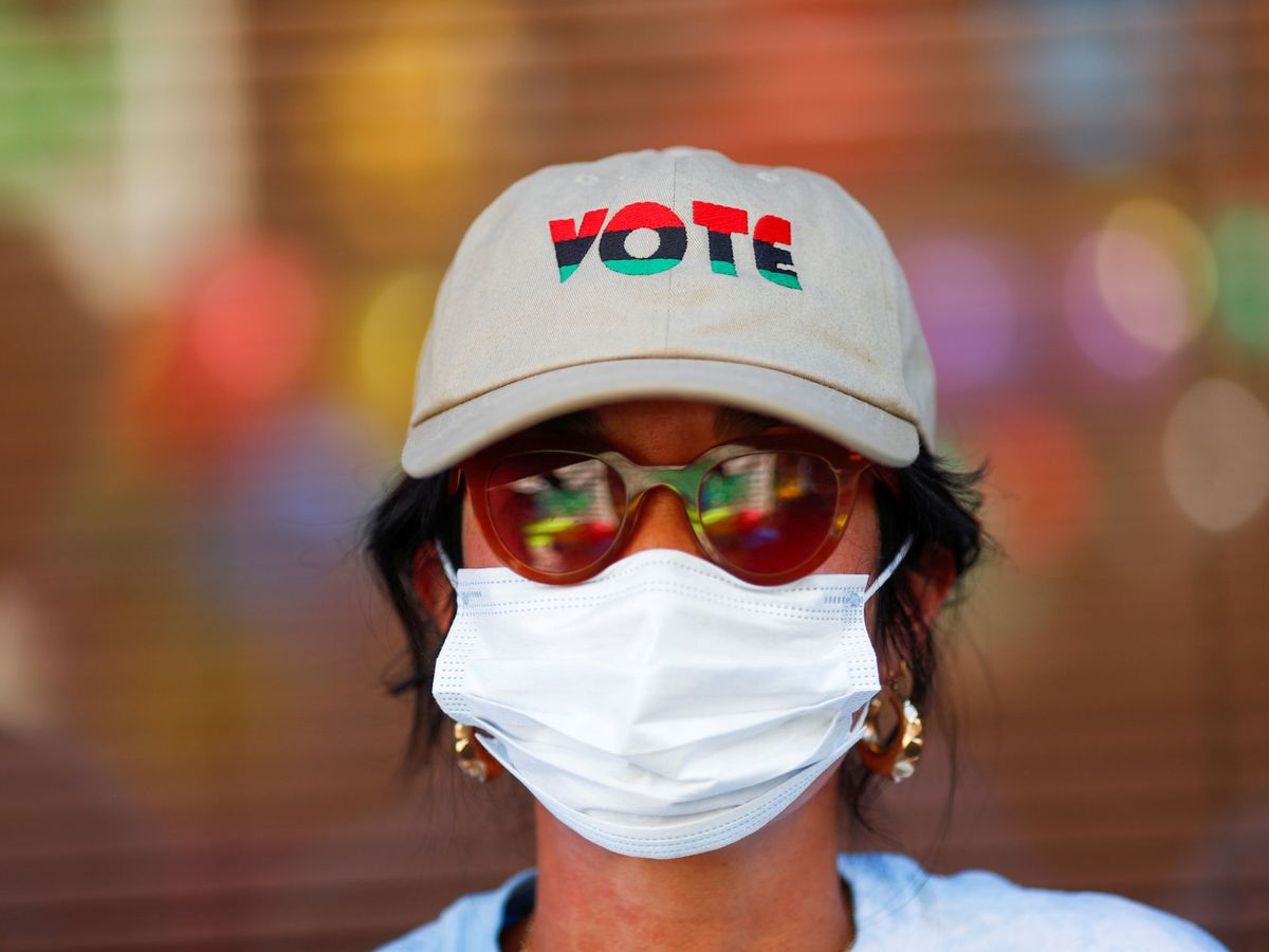 Foto: Una mujer en Phoenix, Arizona. (Reuters)