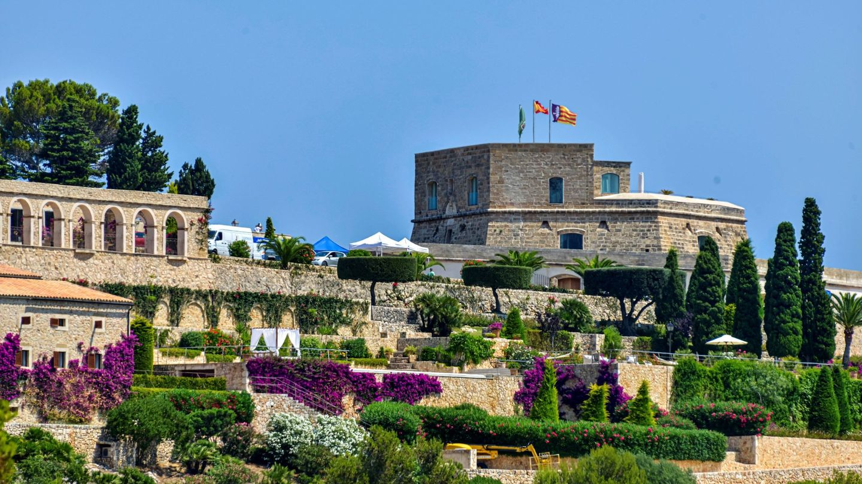 Una imagen de Sa Fortalesa, el lugar donde se casarán Rafa Nadal y Xisca Perelló el sábado. (EFE)