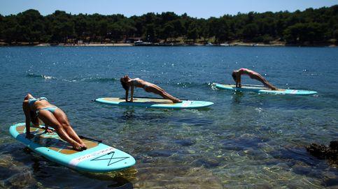Las clases de paddleboard yoga más relajantes