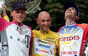 Los tres integrantes del podio del Tour de 1998 corrieron dopados