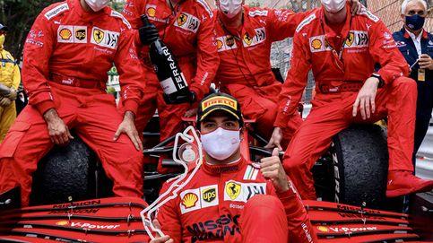 ¿Carlos? Cuando se enfrente a un grande: así responde Sainz a Toto Wolff con Ferrari