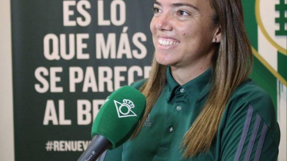 Foto: María Pry, entrenadora y coordinadora del Real Betis Féminas. (foto twitter mariapry)