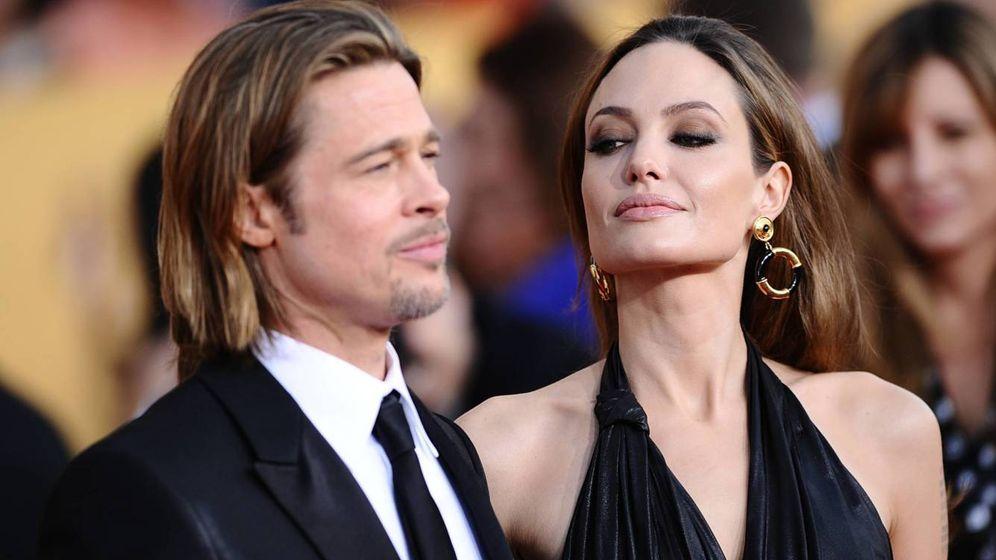 Foto: Angelina Jolie y Brad Pitt en una imagen de archivo. (Gtres)