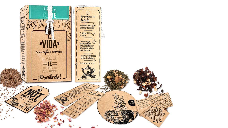 Foto: El pack ofrece diferentes alternativas para los amantes del té.