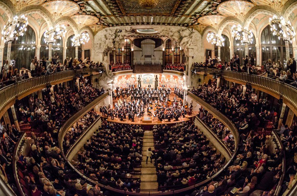 Foto: Foto de archivo del Palau de la Música Catalana en 2015. (EFE)