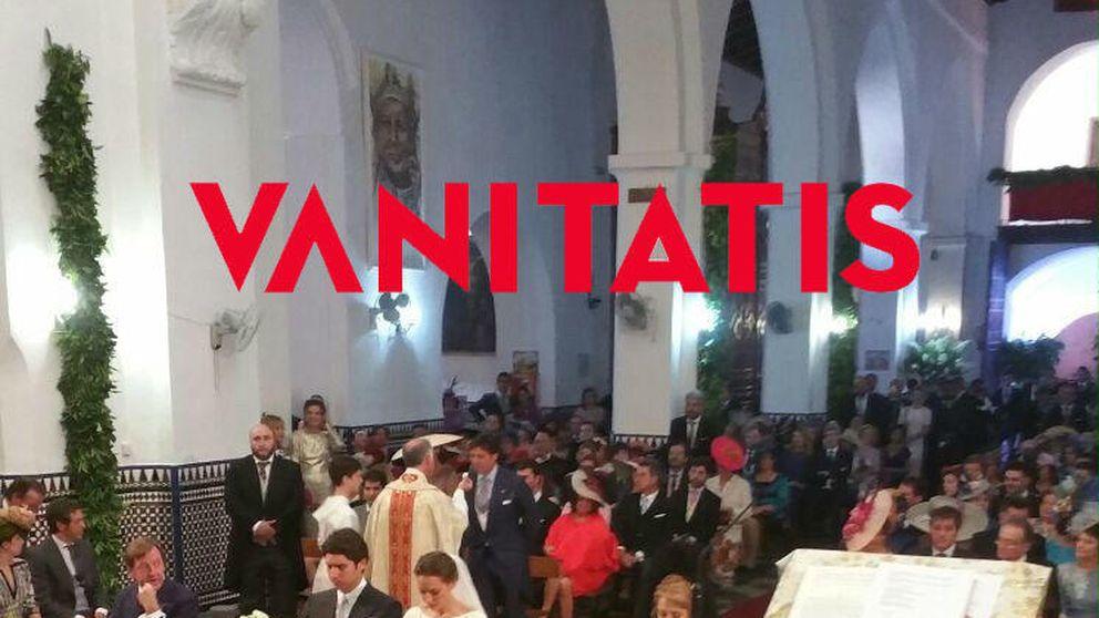 Boda de Cayetano y Eva González: primera foto de los novios en la iglesia