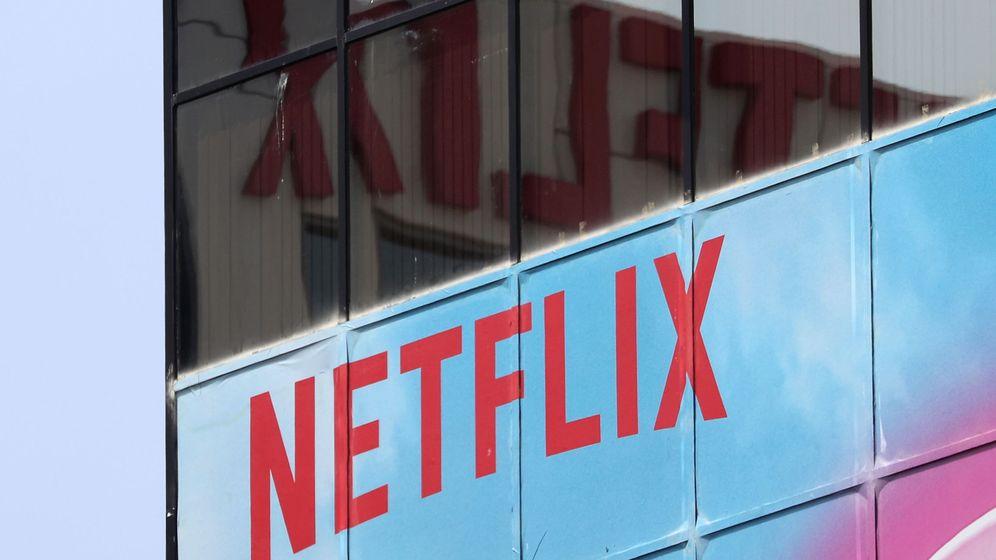 Foto: Logotipo de Netflix en su sede de Los Ángeles (Reuters)