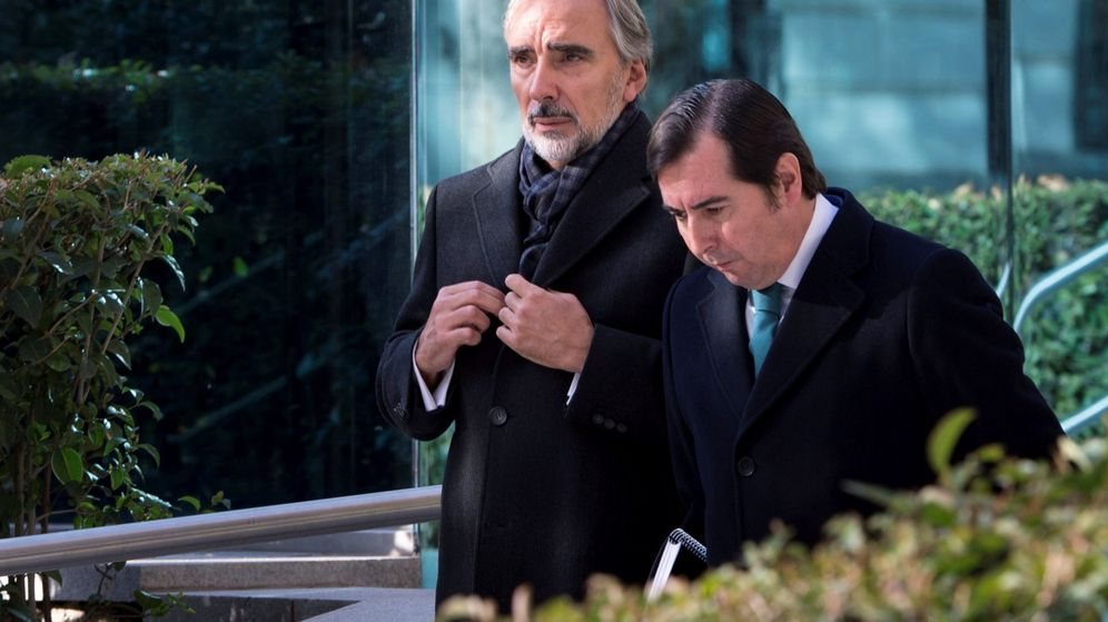 Foto: Juan Asúa, asesor del presidente de BBVA, en la Audiencia Nacional. (EFE)