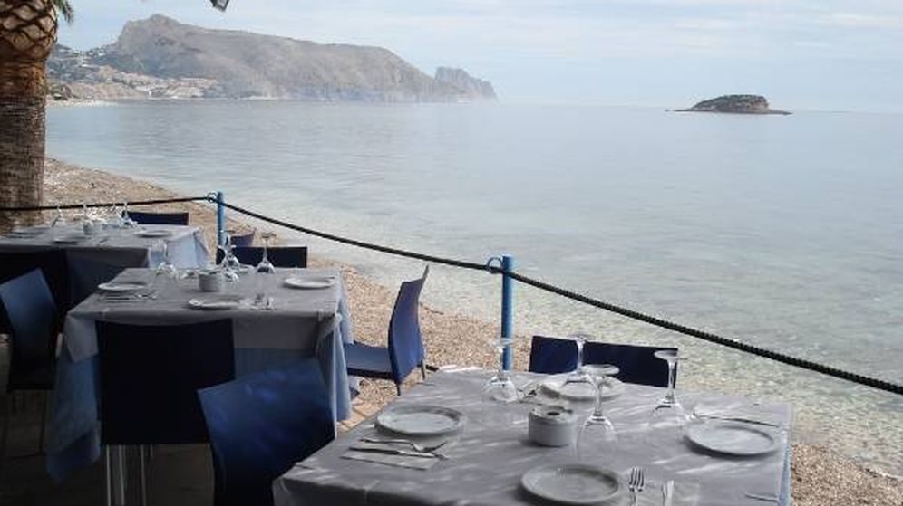 Foto: Restaurante de playa