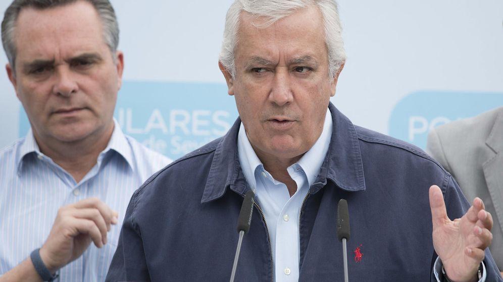 Foto: Javier Arenas se mantiene como vicesecretario de autonomías y ayuntamientos (EFE)