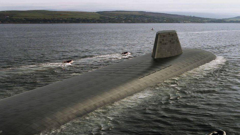 Prototipo del nuevo submarino de clase Dreadnought. (Royal Navy)