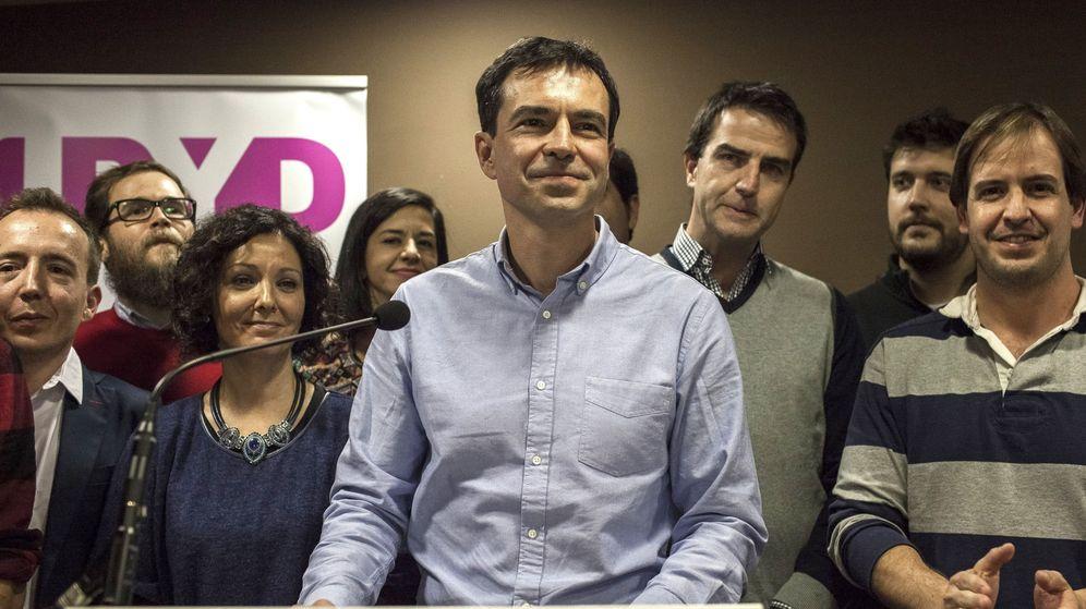 Foto: El que fuera líder y candidato de UPyD a La Moncloa, Andrés Herzog. (EFE)
