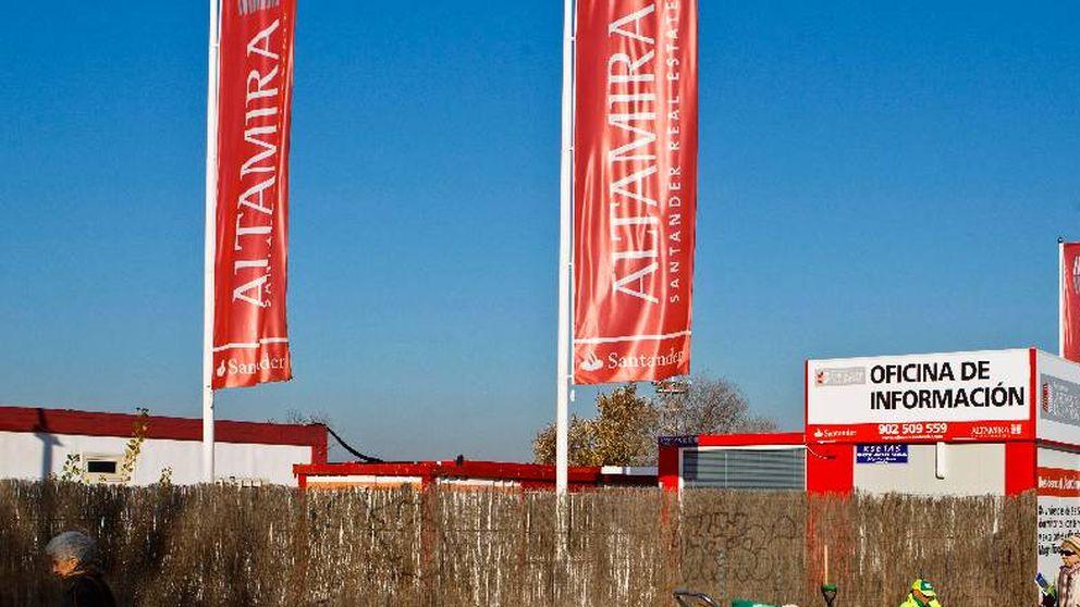 Santander 'abarata' su acuerdo con Altamira a cambio de pagar ahora a Apollo 200 M