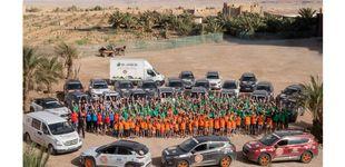 Post de Éxito en la aventura solidaria de Hyundai en el desierto