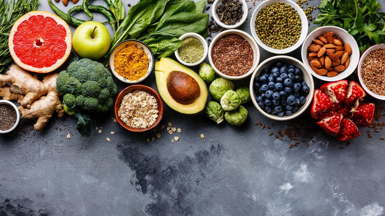 Frutas y verduras. Lo mejor. (iStock)