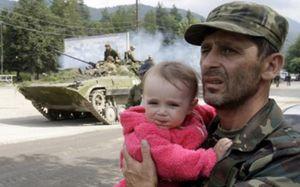El presidente de Georgia firma un documento de alto el fuego unilateral