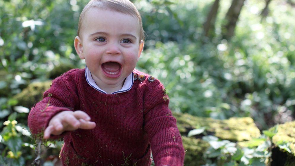 Foto: El príncipe Louis, hace unos meses. (Kensington)