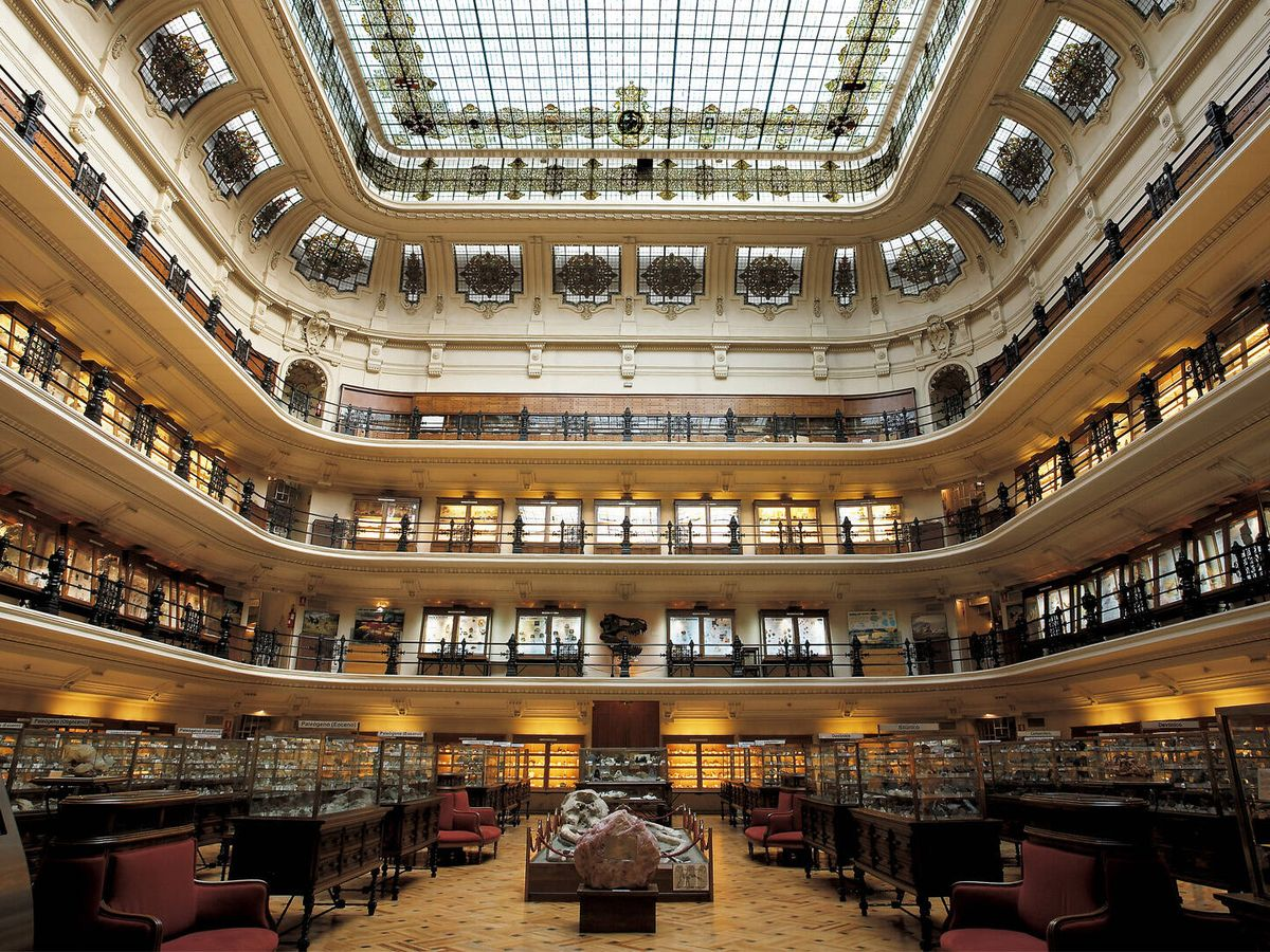 Foto: Sala principal del Museo Geominero de Madrid. (IGME)