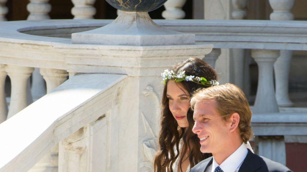 Andrea y Tatiana  se casan tras bautizar a su hijo Sacha