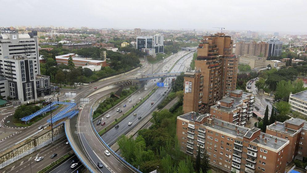 Foto: Llueve sobre Madrid. (Efe)