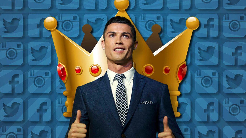 Foto: Cristiano Ronaldo en un montaje de Vanitatis