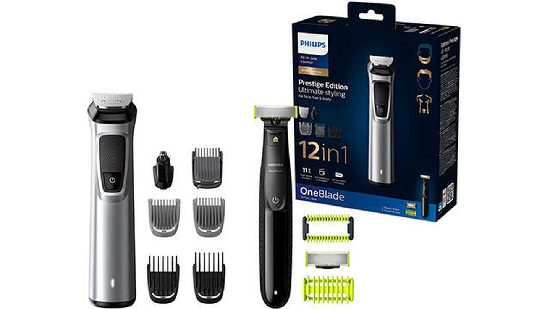 Recortadora de barba y cortapelos 12 en 1 Philips MG9710/90