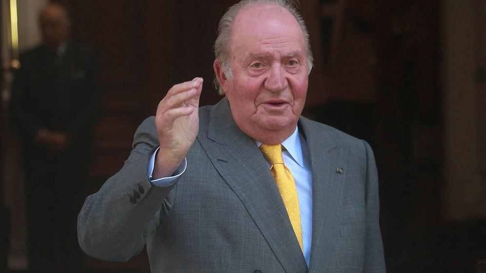 Foto: Fotografía de archivo del rey emérito Juan Carlos. (Reuters)