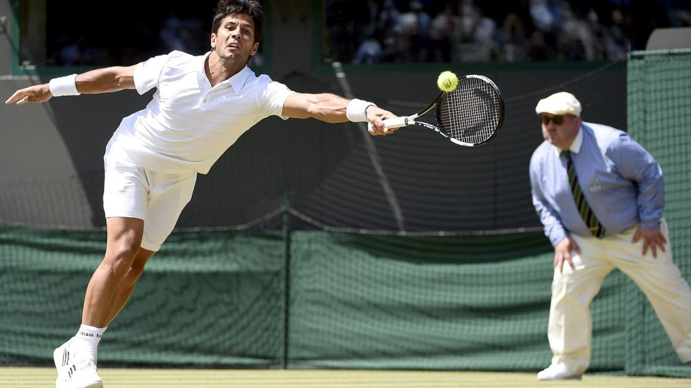 Foto: Wawrinka destroza a Verdasco y lo echa de Wimbledon en menos de dos horas