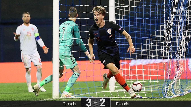 Foto: Jedvaj marcó dos de los tres goles de Croacia. (Reuters)