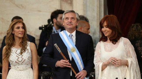 Fernández avisa en su investidura: Argentina quiere pagar pero no puede