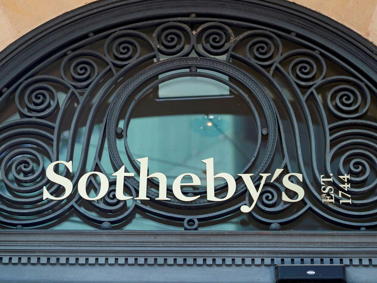 Foto: Logo de Sotheby's. (Reuters)