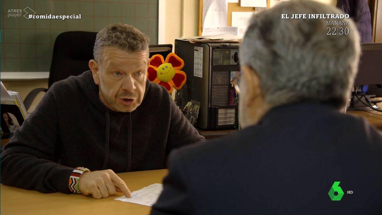 Alberto Chicote pone colorado al consejero de Educación de Castilla La Mancha